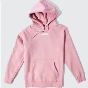 Glossier hoodie S